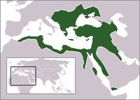 Peta Kekaisaran usmaniyah