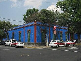 Frida Kahlo Museum - Facade of the house