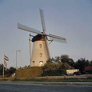 Landerd - Windmill in Reek