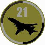 Oznaka rozpoznawcza 21 Baza Lotnictwa Taktycznego - polowy.png