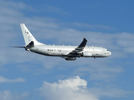 P-8A of VP-5 over the Philippine Sea in September 2014