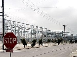 California electricity crisis - Image: PG&E Yard