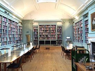Paul Mellon Centre for Studies in British Art - The Public Study Room at The Paul Mellon Centre, 16 Bedofrd Square, London, 2015.