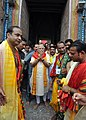 PM Modi offers prayers at Jagannath Temple in Odisha (24921398212).jpg