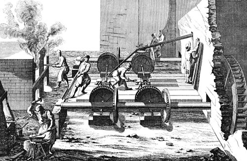 PSM V38 D332 Slitting mill in use in sweden in 1734.jpg