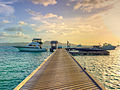 PSV Dock at Petit St. Vincent Island Resort - The Grenadines, St. Vincent, Caribbean..jpg