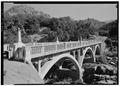 PUMPKIN HOLLOW BRIDGE ACROSS KAWEAH RIVER, FACING NORTH - Generals Highway, Three Rivers, Tulare County, CA HAER CAL,54-THRIV.V,2-31.tif