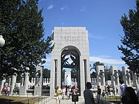 Amazing Pacific Theater Section Of The National World War II Memorial In  Washington, D.C.