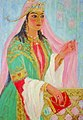 Painting of Heroine Nodira by Shamsroi Khasanova.jpg