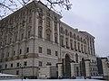 Palác Černínský (Hradčany), Praha 1, Loretánské nám. 5, Hradčany - část směřující do parku.JPG