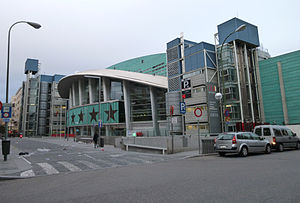 Das Barclaycard Center in Madrid