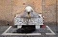 Palazzo apostolico, vasca con sarcofago romano di caccia calidonia.jpg