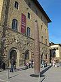 Palazzo castellani, meridiana solare.JPG