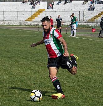 Diego Torres (footballer, born 1992) - Image: Palestino Deportes Temuco, 2018 08 11 Diego Torres 02