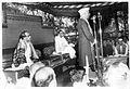 Pandit Nehru speaking at the Convocaton at the Visva Bharati.jpg