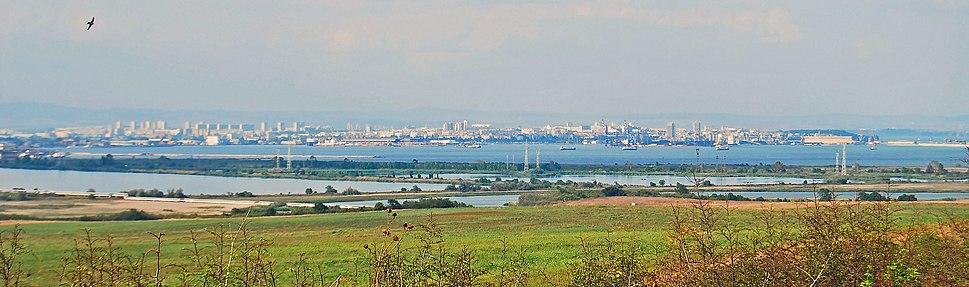 Panorama of Burgas