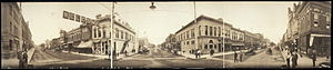 Panoramic View of Hastings, Nebraska. Photogra...