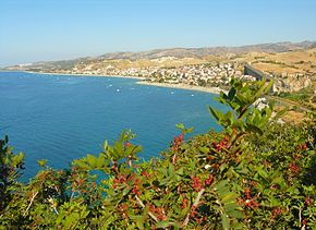 Panoramic view of Bova Marina - Province of Reggio Calabria - Italy - 16 Aug. 2014.jpg