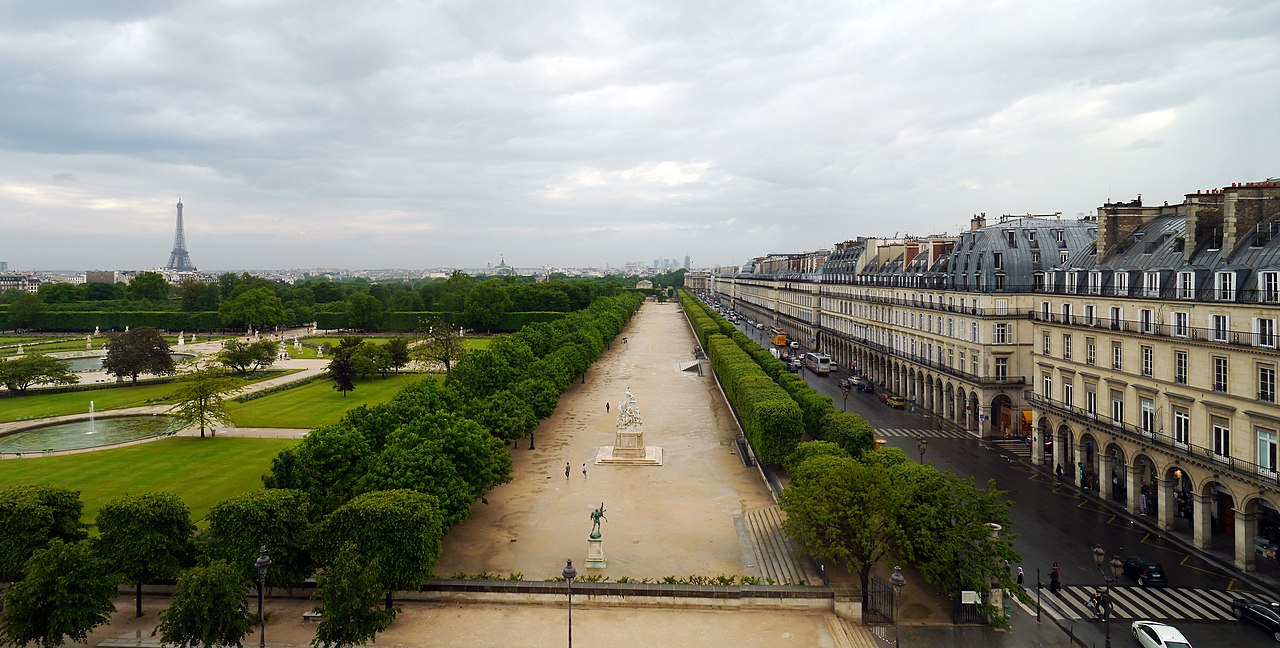 Fichier panoramics of jardin des tuileries paris from - Terrasse des feuillants jardin des tuileries ...
