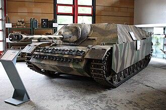 Jagdpanzer IV - Jagdpanzer IV at the Deutsches Panzermuseum