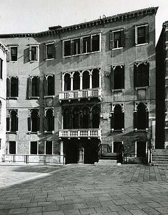Pinacoteca Querini Stampalia - Palazzo Querini Stampalia photographed by Paolo Monti in 1963 (Fondo Paolo Monti, BEIC)
