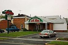 Una pizzeria Papa John's Pizza