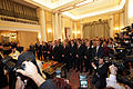 Papandreou Cabinet swearing-in ceremony 2009Oct7.jpg