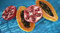 Papaya & Pomegranate (4040038053).jpg