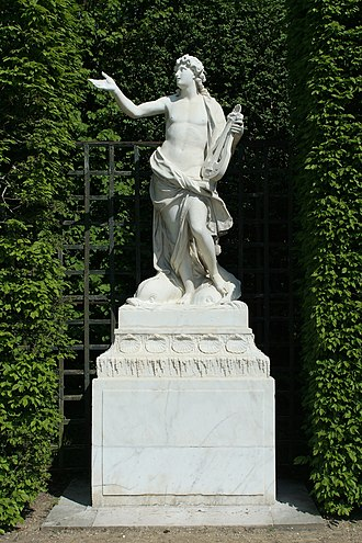 Arion - Image: Parc de Versailles, Bosquet des Dômes, Arion, Jean Melchior Raon 01