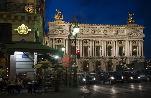 Paris - The Opera and the Café de la Paix - 3651