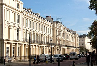 1824 in architecture - Park Square, London, east side