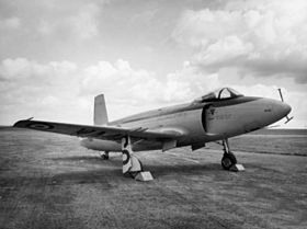 Un Supermarine Attacker F.1
