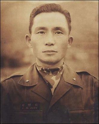 Park Chung-hee - Park as a South Korean brigadier general in 1957