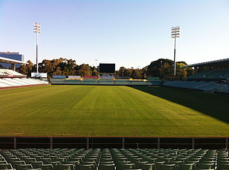 2010 Rugby League Four Nations - Image: Parramatta Stadium New Scoreboard