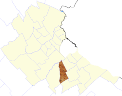 location of Esteban Echeverría Partido in Gran Buenos Aires