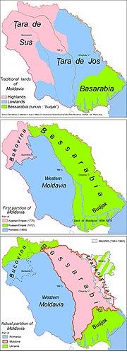 Partitions of Moldavia