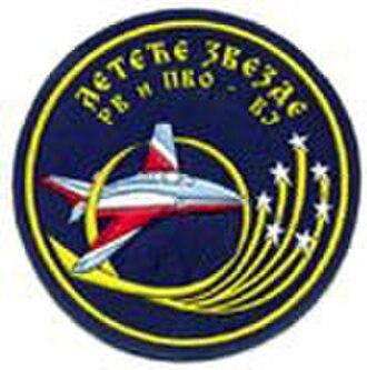 Leteće zvezde - Image: Patch of Leteće zvezde