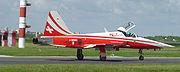 Patrouille Suisse aircraft (flo)