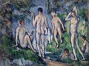 Paul Cézanne - Group of Bathers (Groupe de baigneurs) - BF101 - Barnes Foundation.jpg