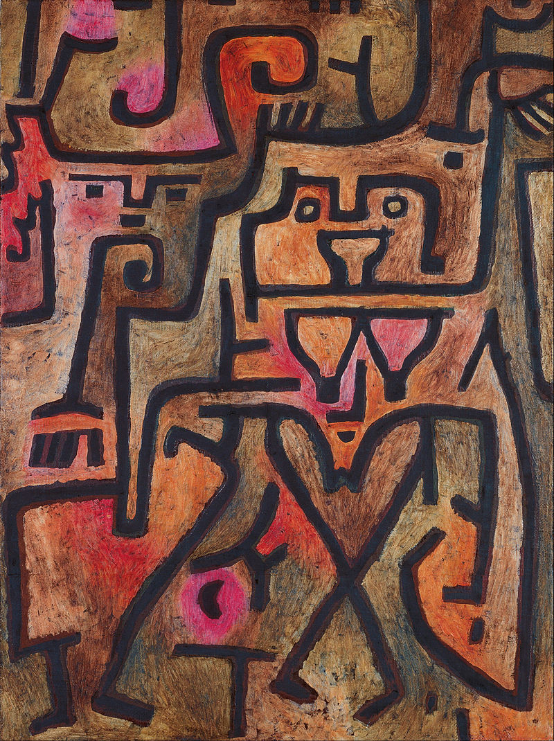 Paul Klee - Forest Witches - Google Art Project.jpg