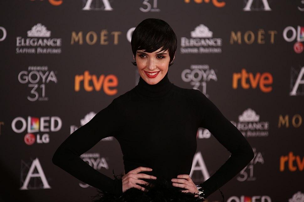 Paz Vega en los Premios Goya 2017