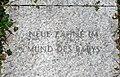 Peace memorial Erlauf by Jenny Holzer 03 - Neue Zähne im Mund des Babys.jpg