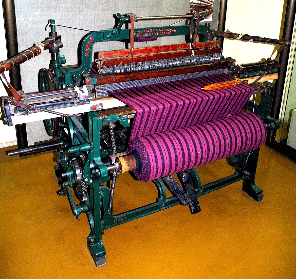 machine looms