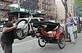 Pedicab setting down 9 Av jeh.jpg