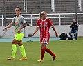 Peggy Nietgen und Mandy Islacker BL FCB gg. 1. FC Koeln Muenchen-2.jpg