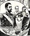 """Pelle Hedman """"H.K.H. Kronprinsen utöfvafvar värdskap"""" 1894.jpg"""