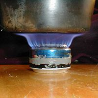 Soda can stove template