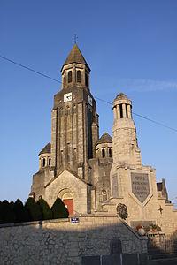 Perthes (Ardennes) - l' Église Saint-Thimothée et Saint-Apollinaire - Photo Francis Neuvens lesardennesvuesdusol.fotoloft.fr.JPG