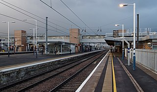Peterborough railway station Railway station serving the city of Peterborough, within Cambridgeshire, England