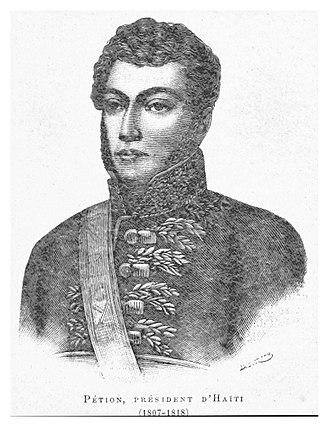 Alexandre Pétion - Image: Petion (President d'Haiti 1807 1818)